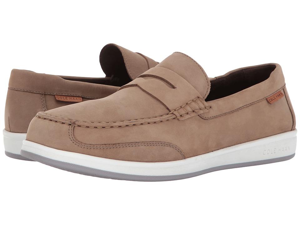 Cole Haan - Ellsworth Penny II (Milkshake Nubuck) Men's Shoes