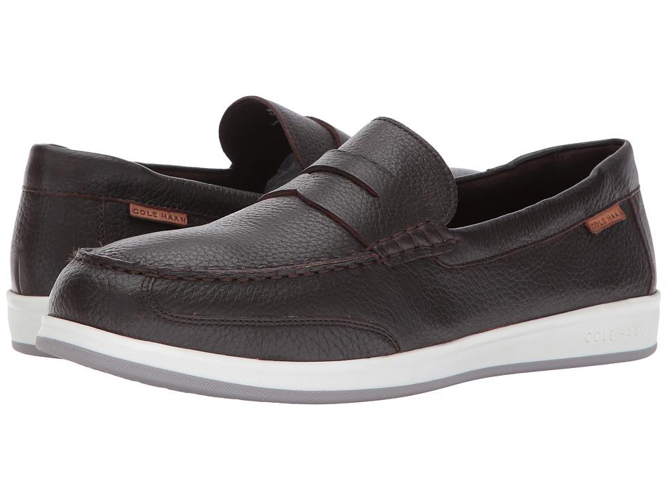 Cole Haan - Ellsworth Penny II (Brown Tumble) Men's Shoes