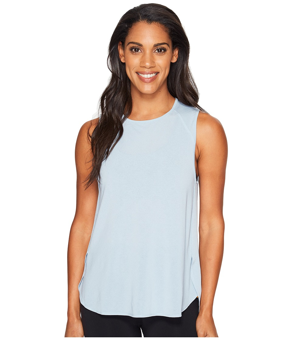 Lucy - Dream On Muscle Tank Top (Blue Fog) Women's Sleeveless