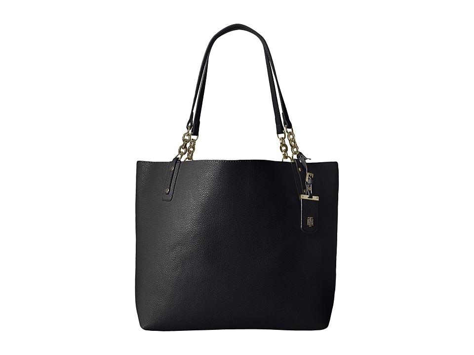 Tommy Hilfiger - Gabby Tote (Black) Tote Handbags