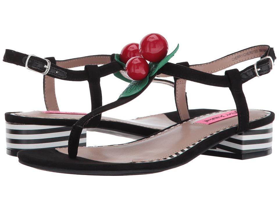 Betsey Johnson - Cherry (Black) Women's Sandals