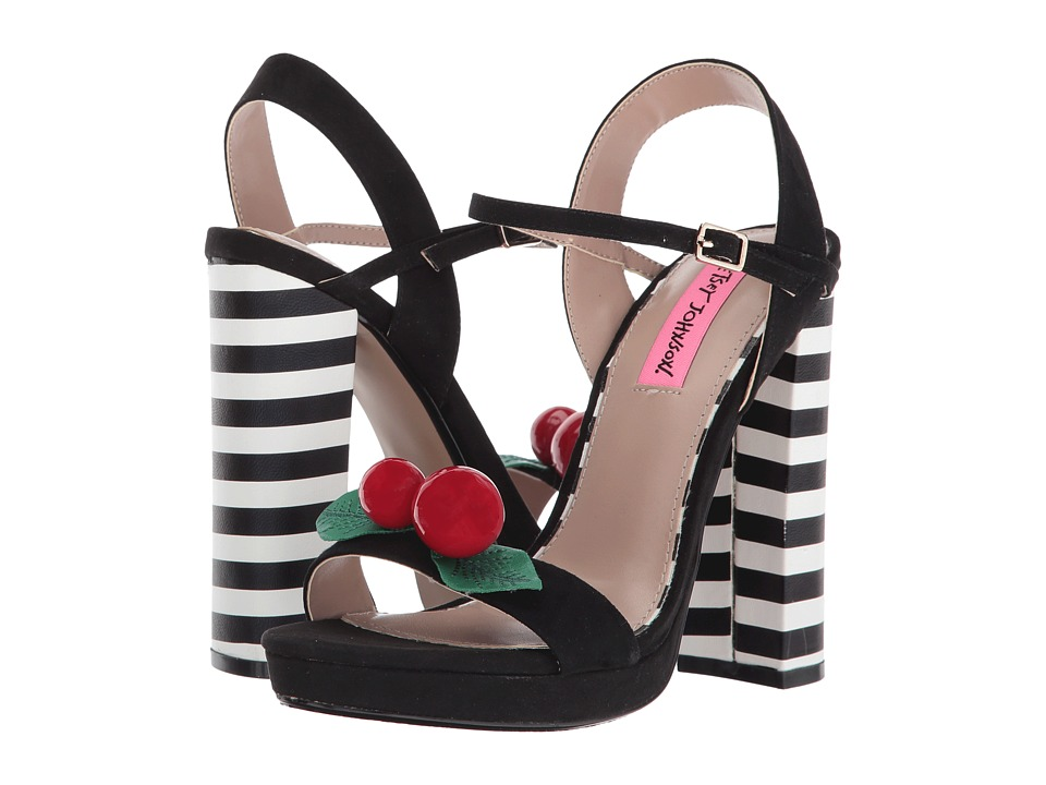 Betsey Johnson - Izzie (Black) High Heels