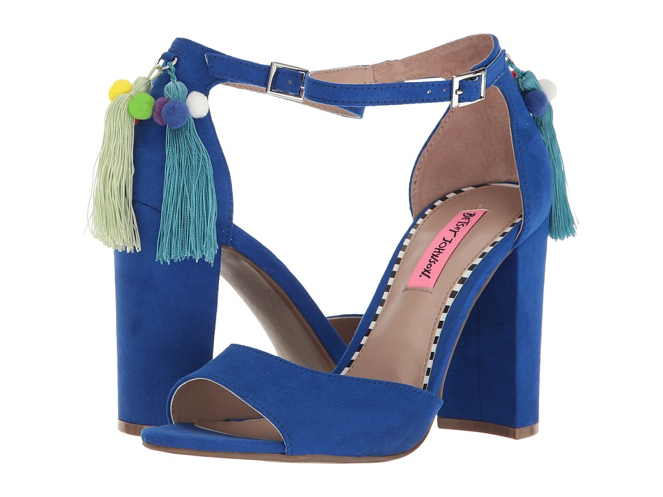 Betsey Johnson Jacki (Blue) High Heels