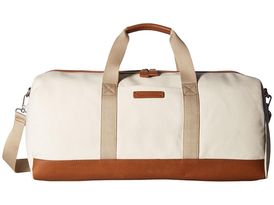 Tommy Hilfiger - Charles Weekender Canvas (Natural) Bags