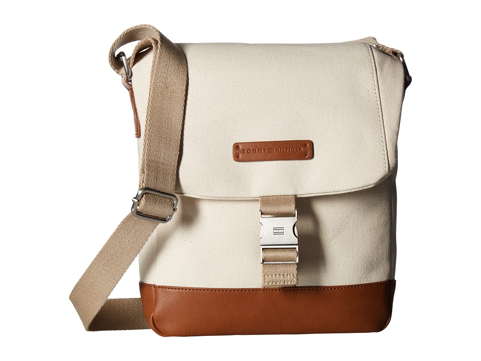 Tommy Hilfiger - Charles Reporter Canvas (Natural) Bags