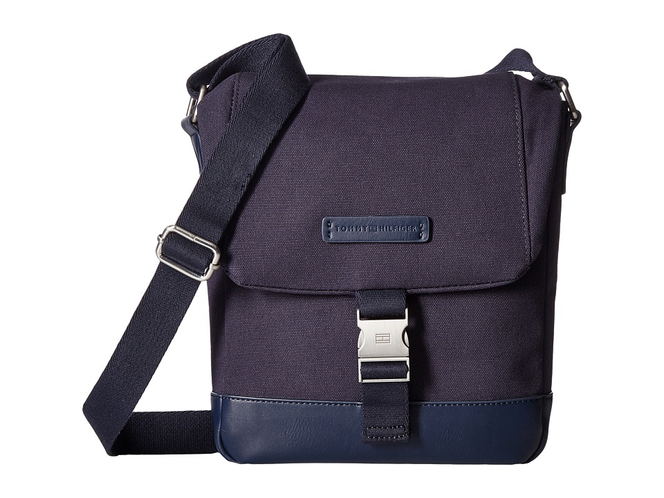 Tommy Hilfiger - Charles Reporter Canvas (Tommy Navy) Bags