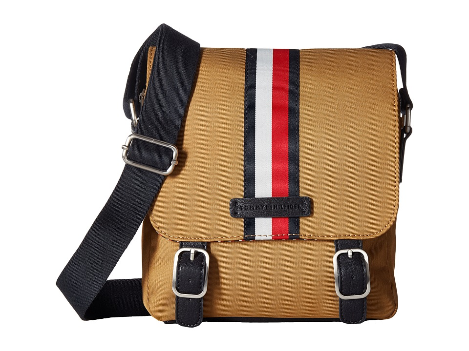 Tommy Hilfiger - Hudson Crossbody Nylon (British Tan) Cross Body Handbags