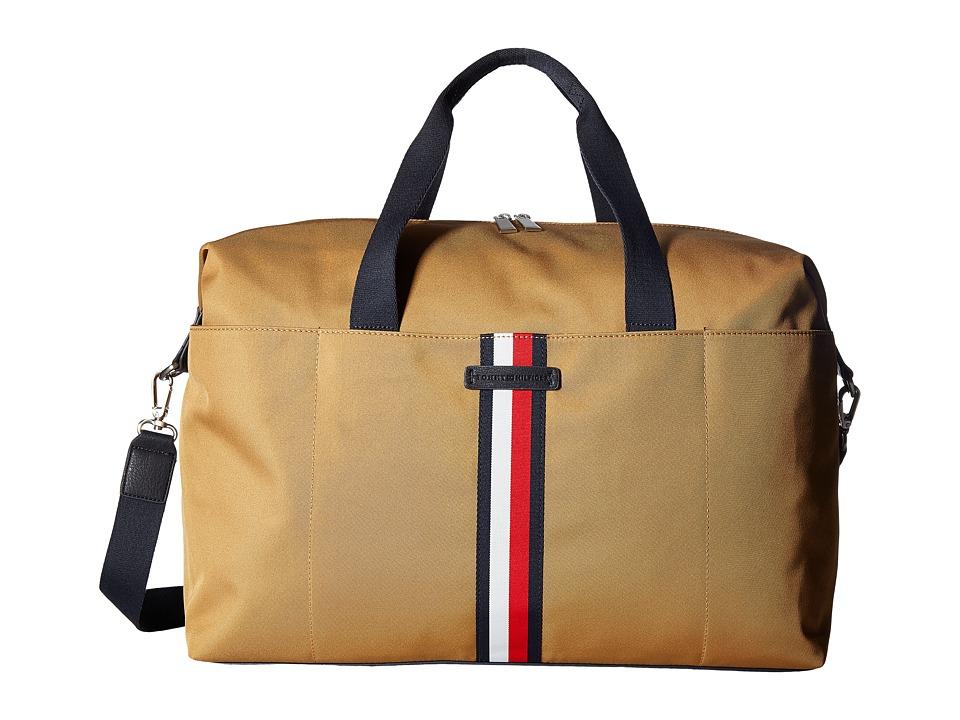 Tommy Hilfiger - Hudson Weekender Nylon (British Tan) Bags