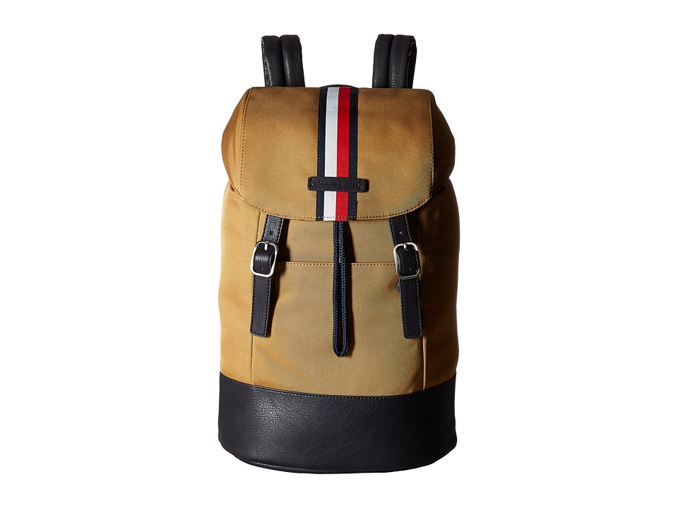 Tommy Hilfiger - Hudson Backpack Nylon (British Tan) Backpack Bags