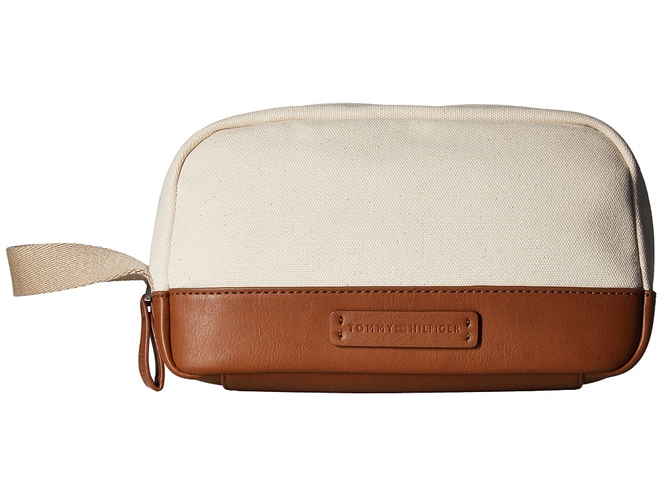 Tommy Hilfiger - Charles Dopp Kit Canvas (Natural) Bags