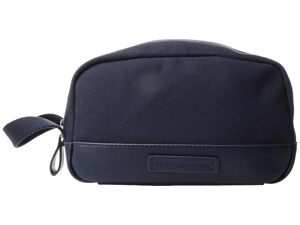 Tommy Hilfiger - Charles Dopp Kit Canvas (Tommy Navy) Bags