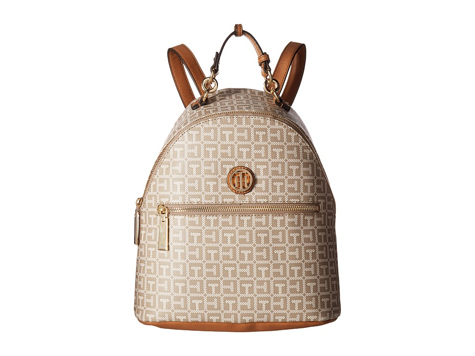 Tommy Hilfiger - Isabella Dome Backpack (Natural/Multi) Backpack Bags