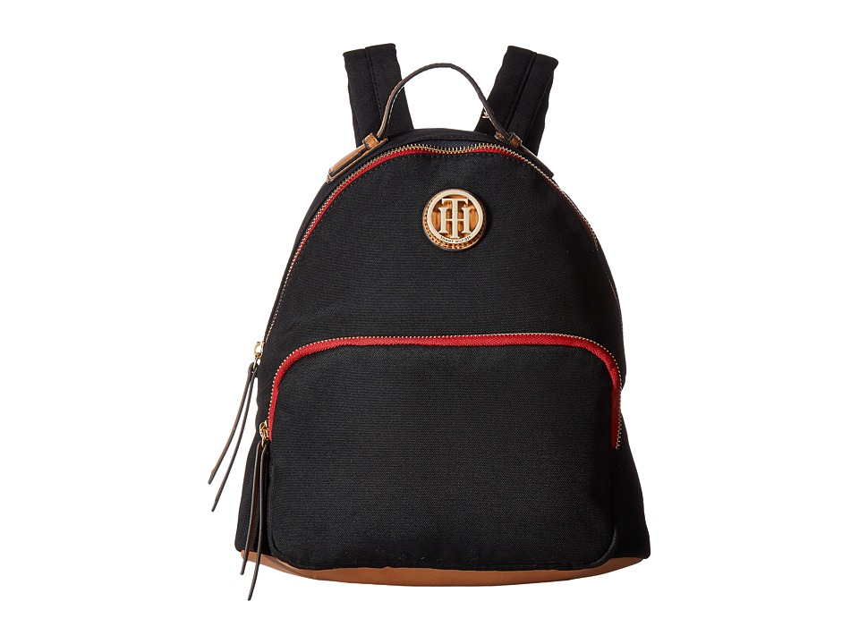 Tommy Hilfiger - Ivy Dome Backpack (Black) Backpack Bags