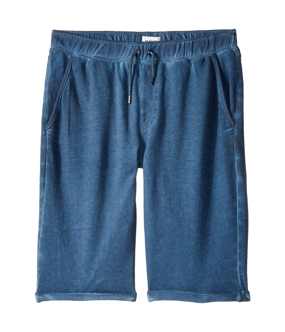 Hudson Kids - Pigment Dye Pull-On Shorts in Malibu Blue (Big Kids) (Malibu Blue) Boy's Shorts