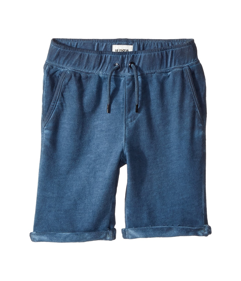 Hudson Kids - Pigment Dye Pull-On Shorts in Malibu Blue (Toddler/Little Kids/Big Kids) (Malibu Blue) Boy's Shorts