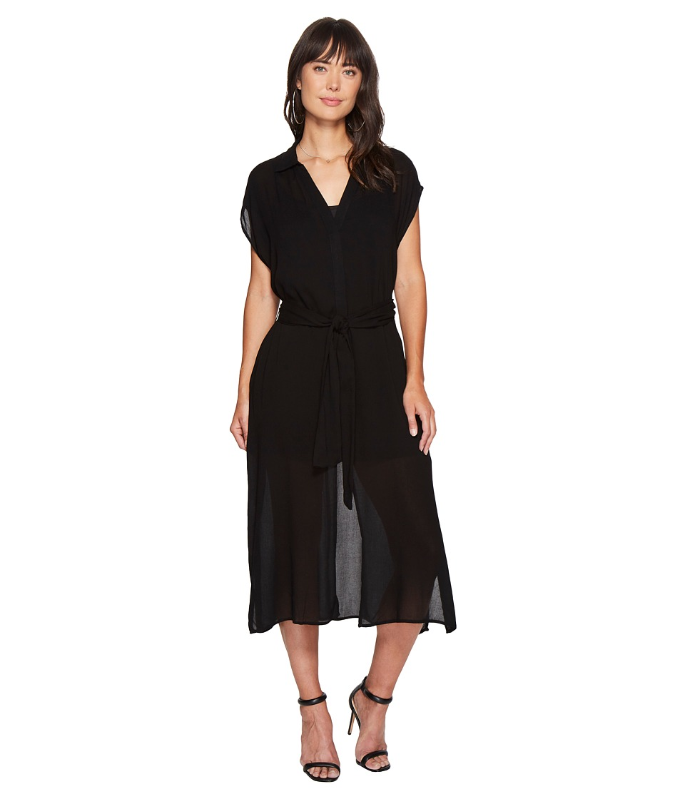 Bishop + Young - T-Shirt Dress (Black) Women's Dress