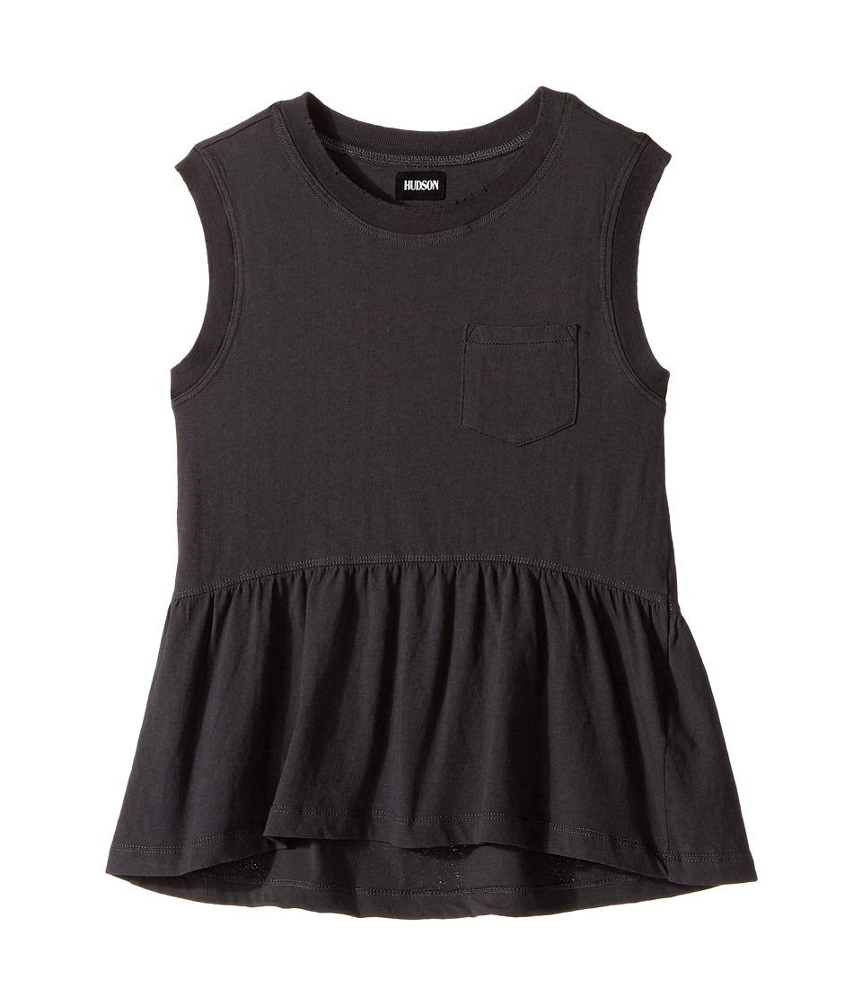 Hudson Kids - Flounce Tank Top (Big Kids) (Alloy Light) Girl's Sleeveless