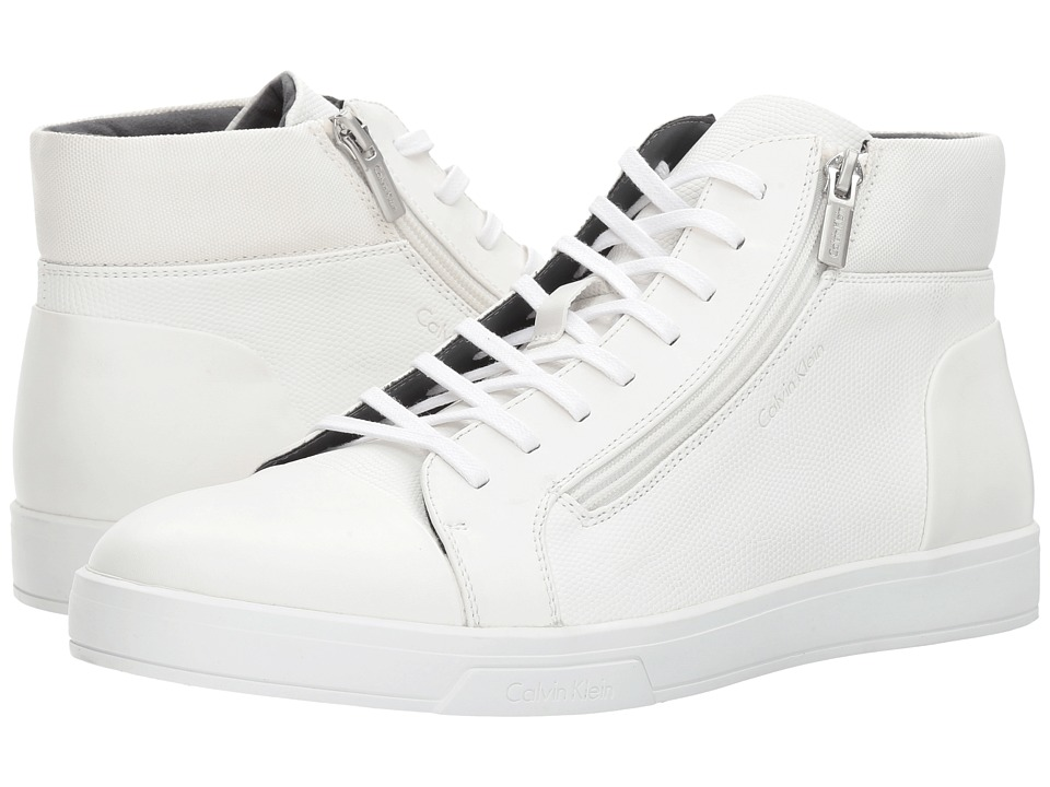 Calvin Klein - Balthazar (White) Men's Shoes