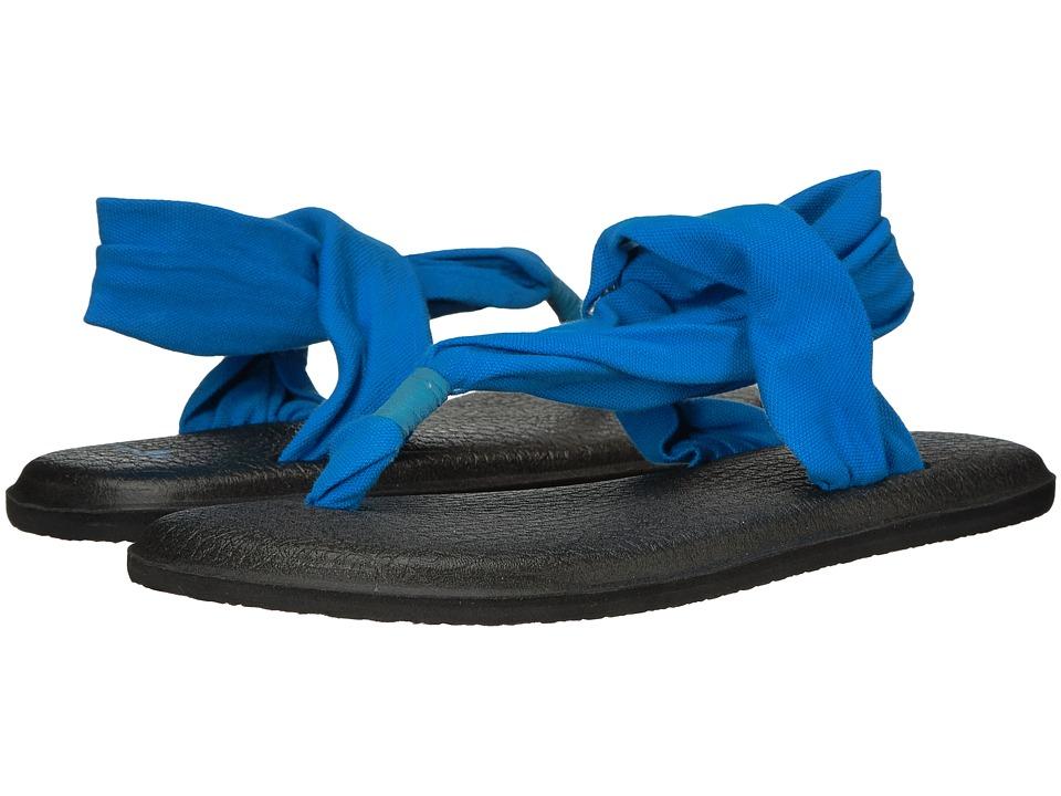 Sanuk - Yoga Sling 2 (Bright Blue) Women's Sandals
