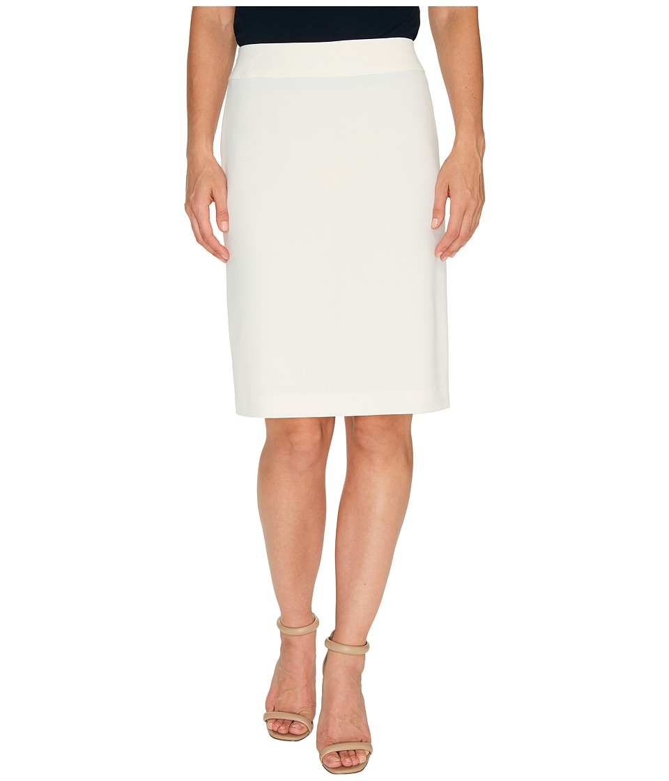 Tahari by ASL - Bistretch Pencil Skirt (Ivory) Women's Skirt