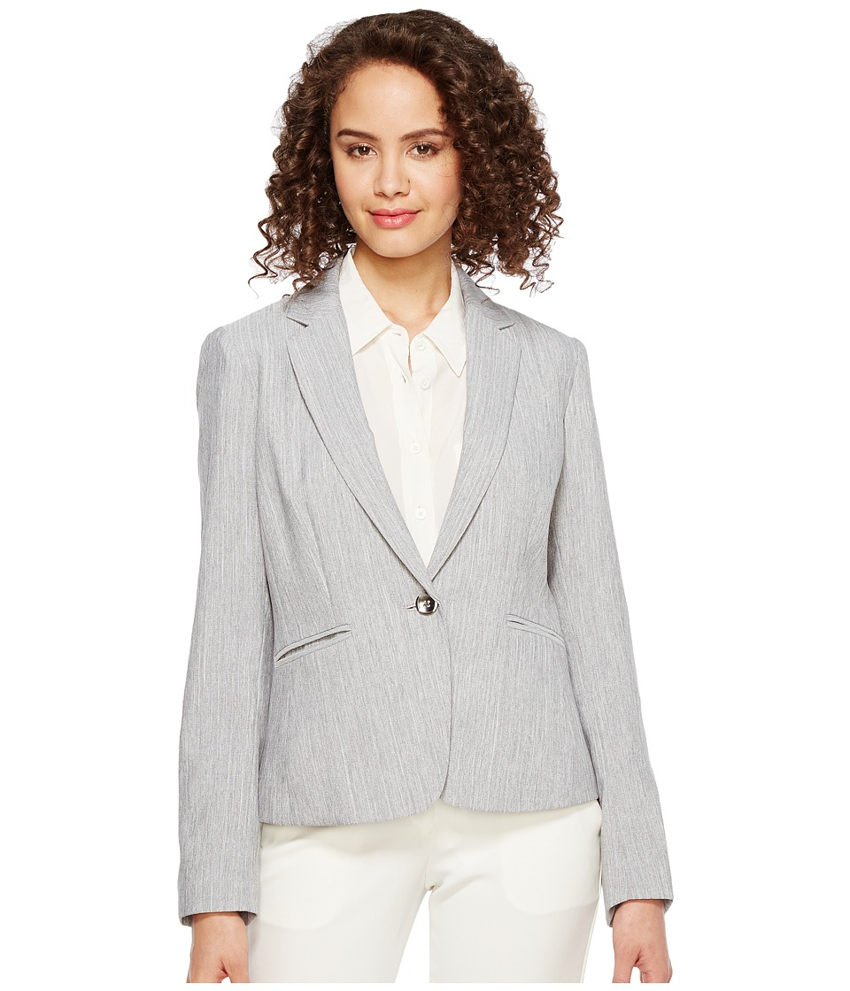 Tahari by ASL - Jacket (Grey) Women's Jacket