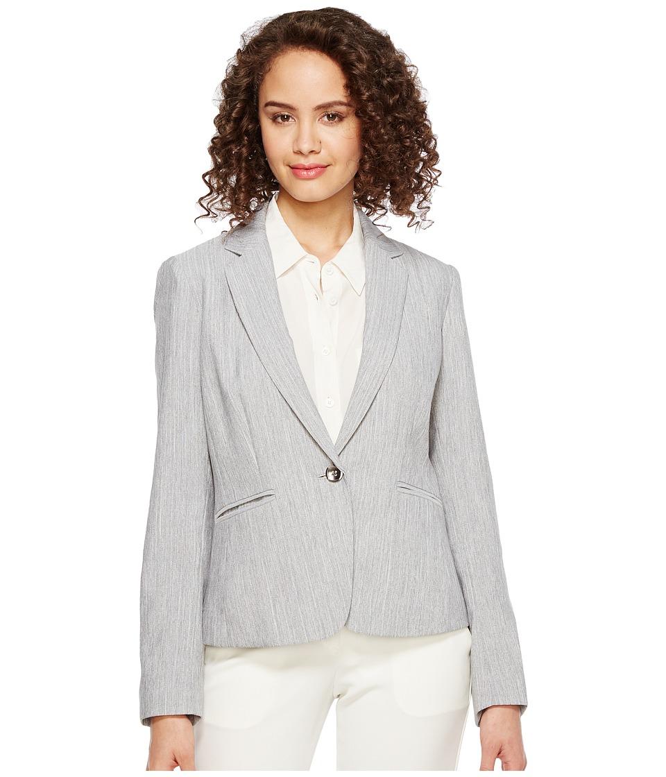 Tahari by ASL - Jacket (Grey) Women's Jacket