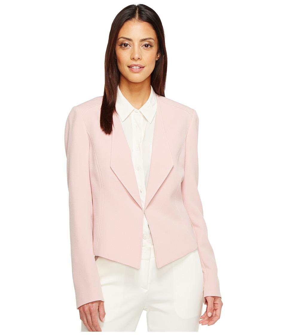 Tahari by ASL - Open Drape Front Jacket (Pink) Women's Jacket