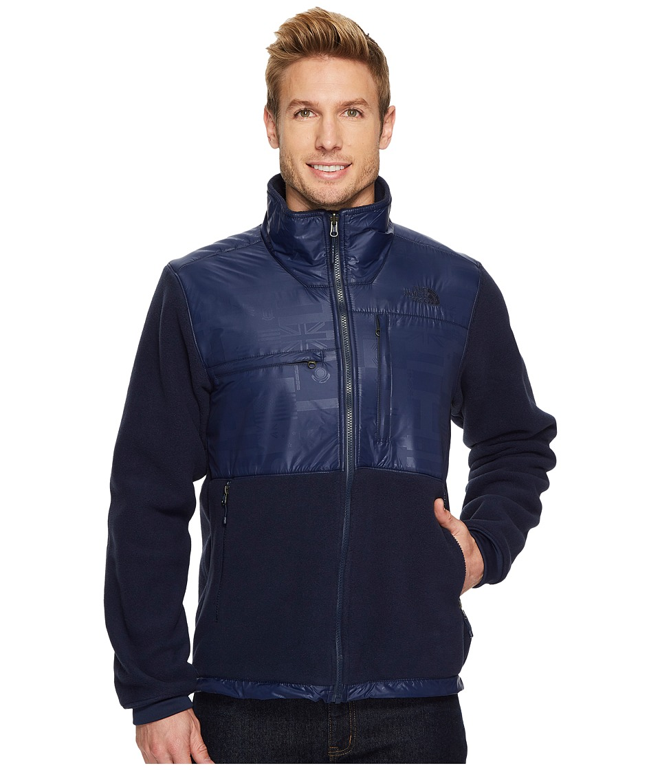 The North Face International Collection Denali 2 Jacket (Cosmic Blue) Men