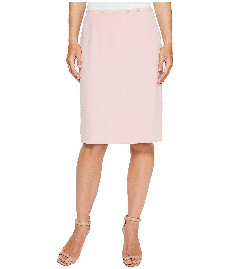 Tahari by ASL - Crepe Pencil Skirt (Pink) Women's Skirt