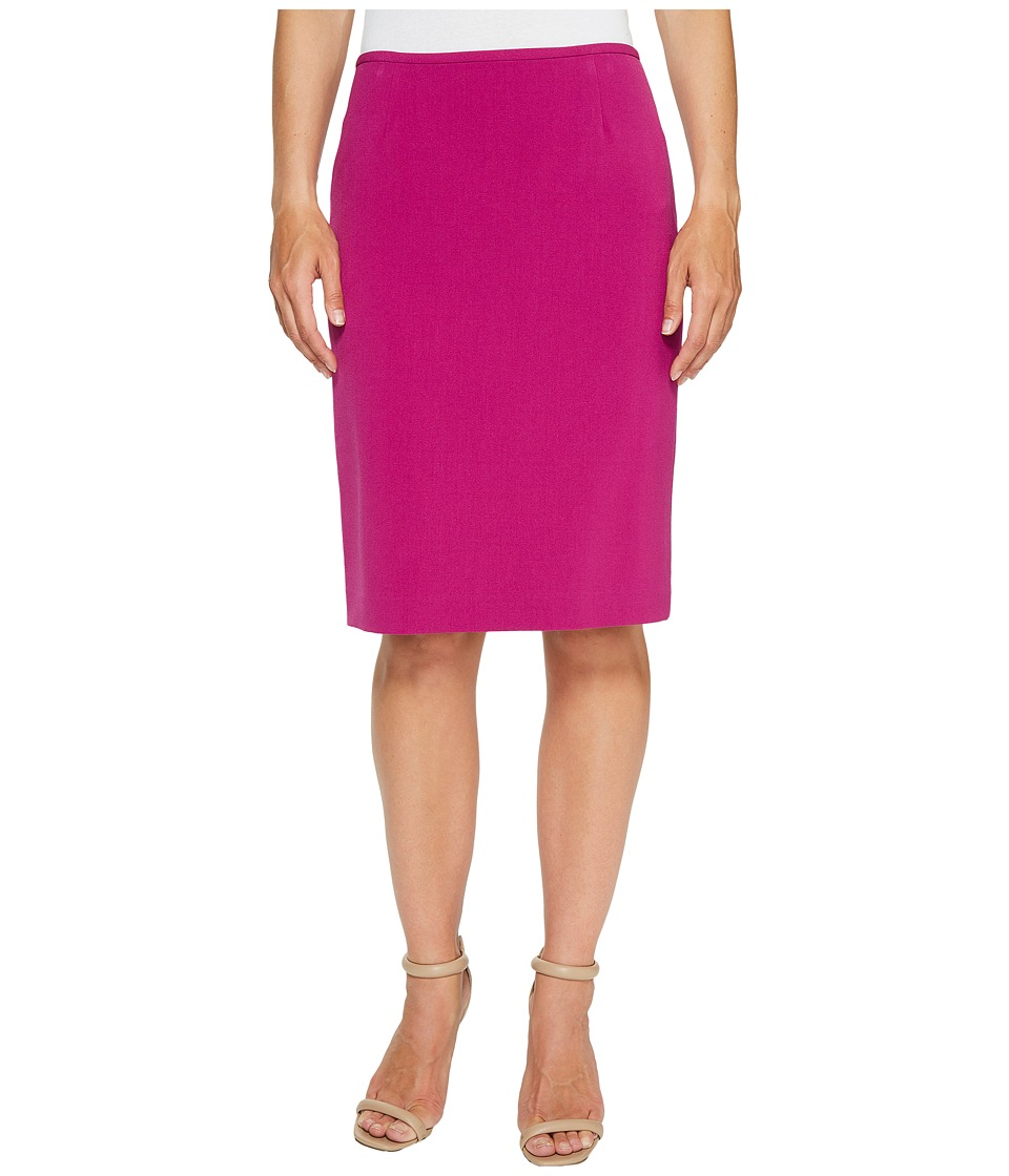 Tahari by ASL - Bistretch Pencil Skirt (Azalea) Women's Skirt