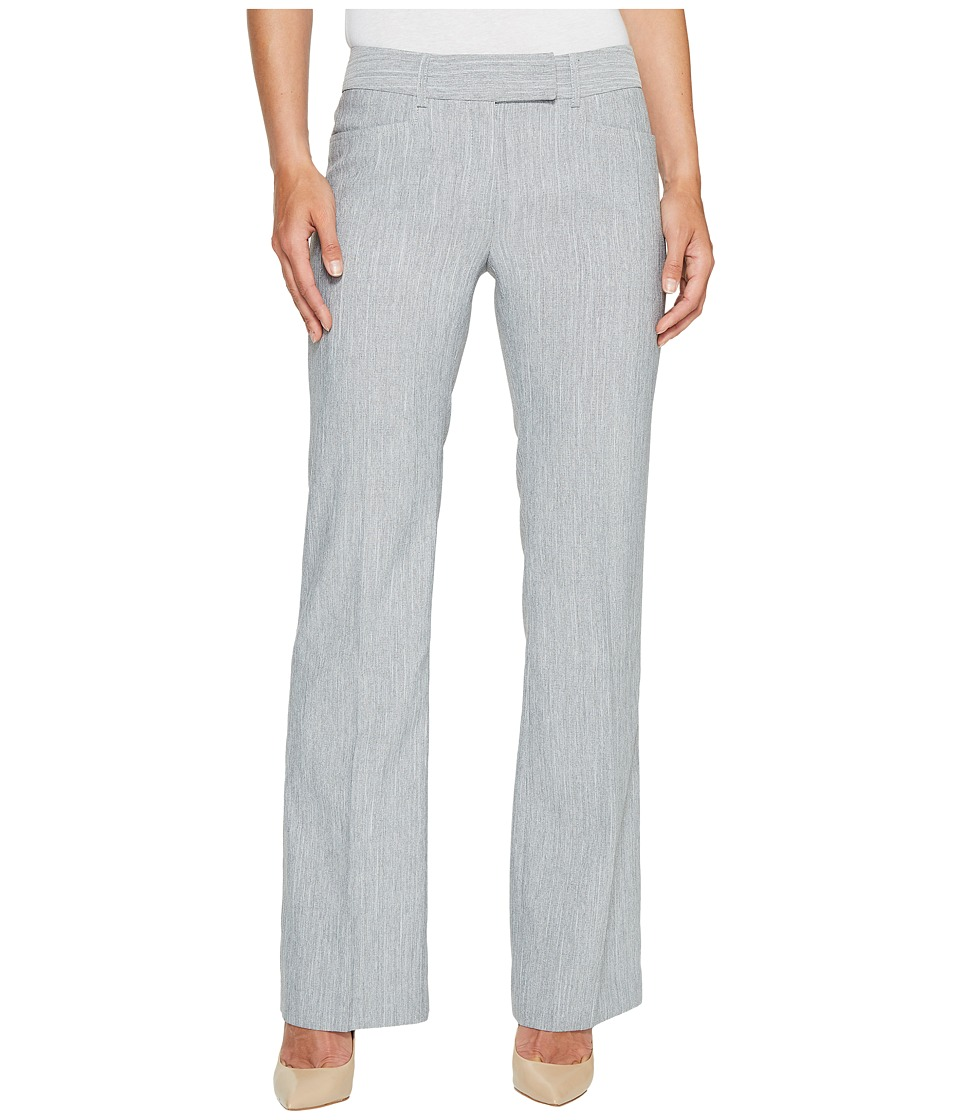 Tahari by ASL - Wide Waistband Pants (Grey) Women's Casual Pants