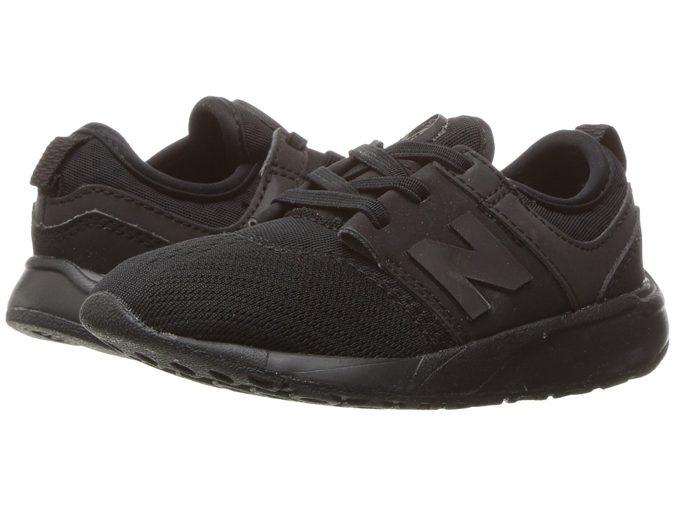 New Balance Kids - KA247 (Infant/Toddler) (Black 1) Boys Shoes
