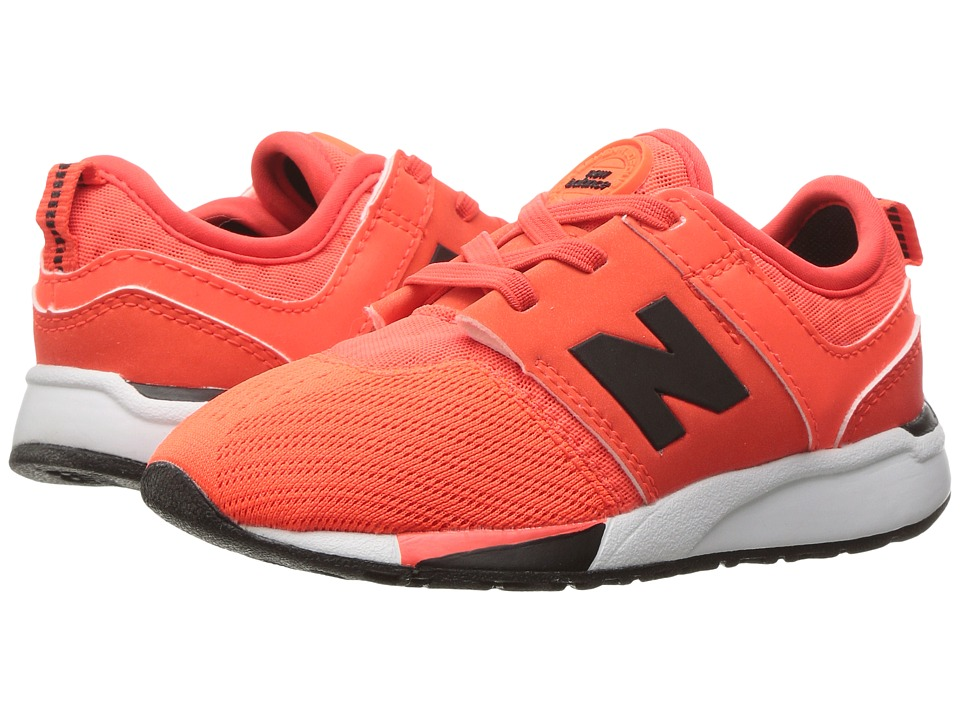 New Balance Kids - KA247 (Infant/Toddler) (Orange) Boys Shoes