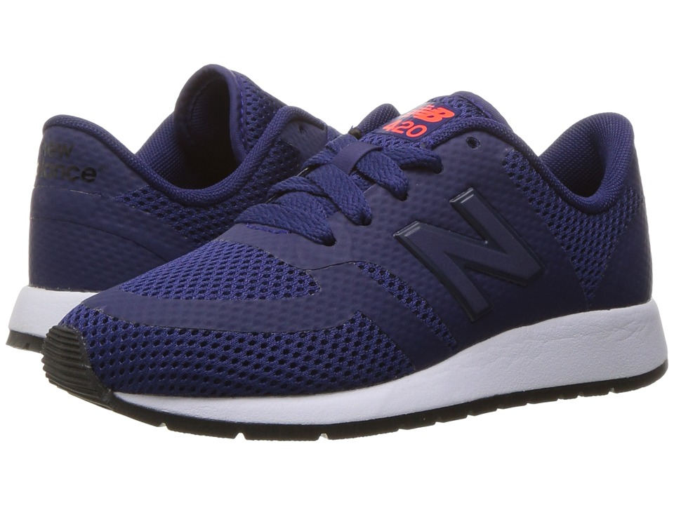 New Balance Kids KFL420 (Little Kid) (Navy) Boys Shoes