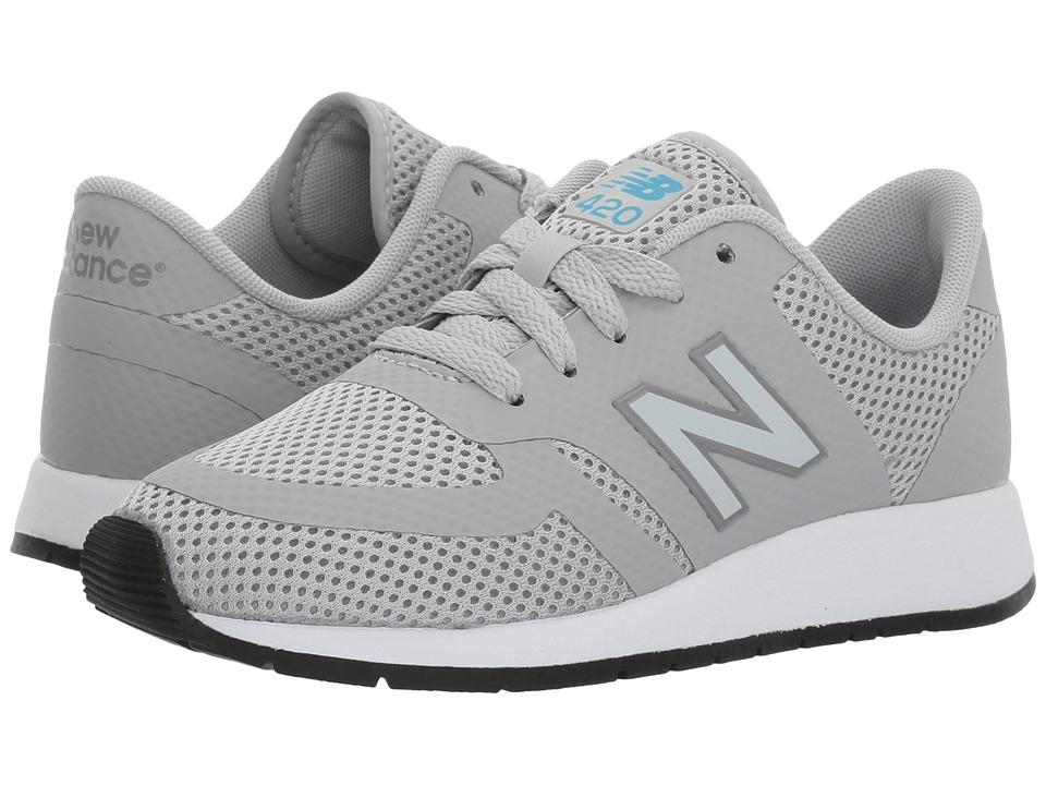 New Balance Kids KFL420 (Little Kid) (Grey) Boys Shoes