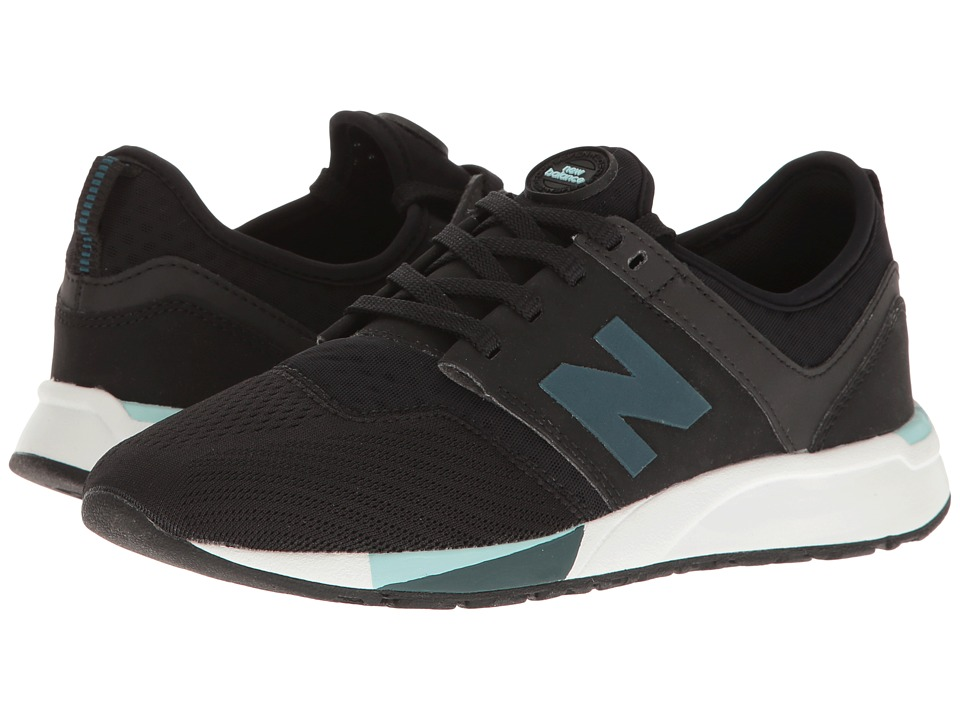New Balance Kids KL247 (Big Kid) (Black) Boys Shoes