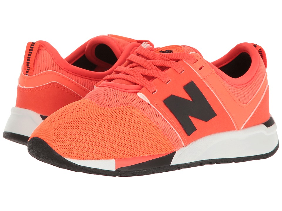 New Balance Kids KL247 (Little Kid) (Orange) Boys Shoes