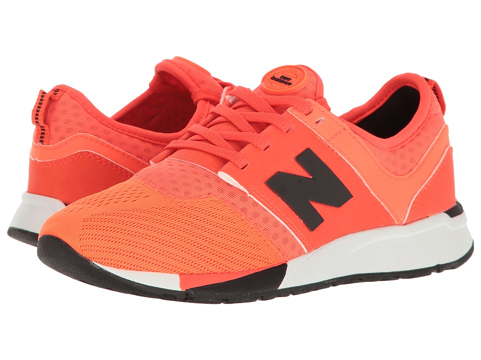 New Balance Kids - KL247 (Big Kid) (Orange) Boys Shoes