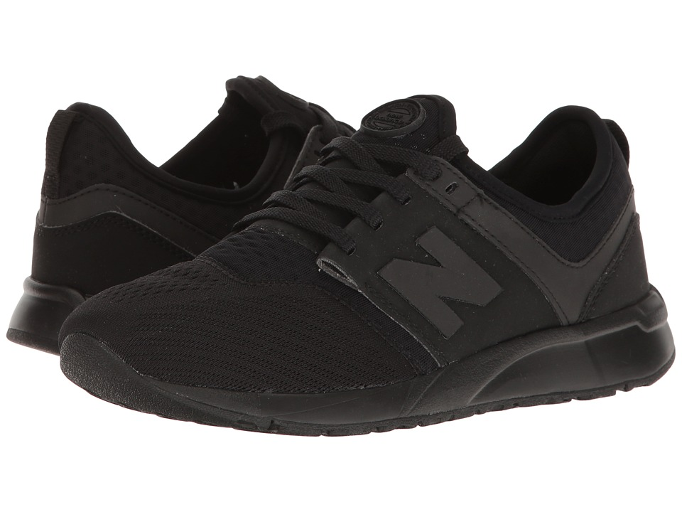 New Balance Kids - KL247 (Big Kid) (Black 1) Boys Shoes