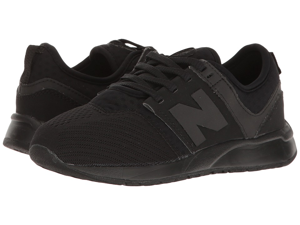 New Balance Kids KL247 (Little Kid) (Black 1) Boys Shoes