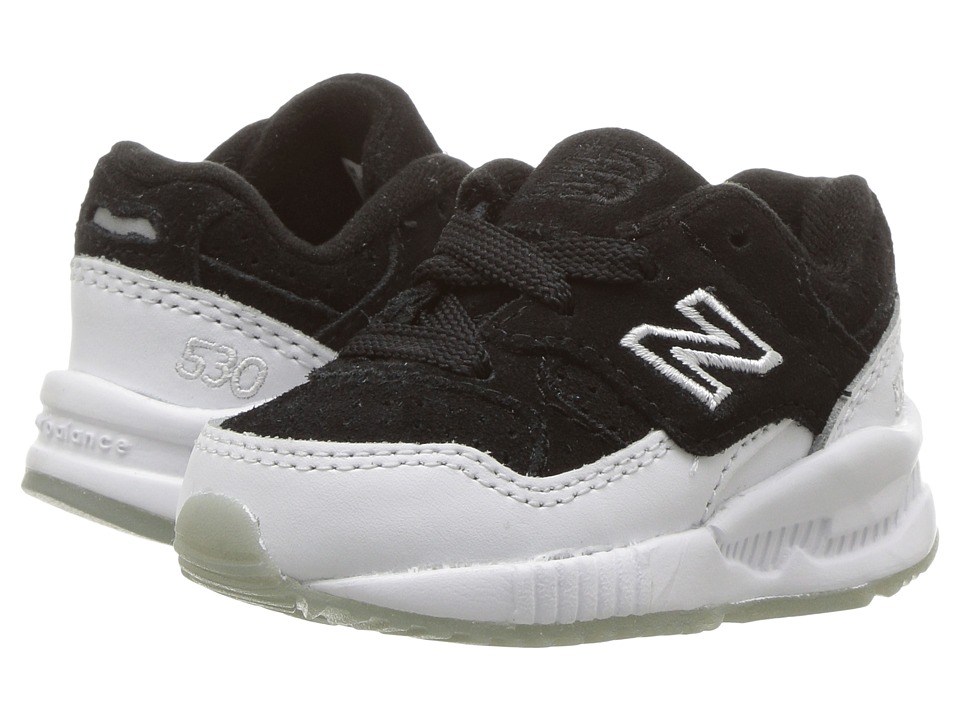 New Balance Kids KL530 (Infant/Toddler) (Black/White) Boys Shoes