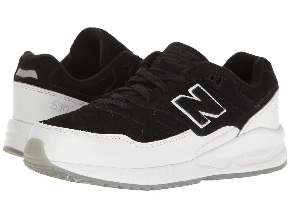 New Balance Kids - KL530 (Big Kid) (Black/White) Boys Shoes