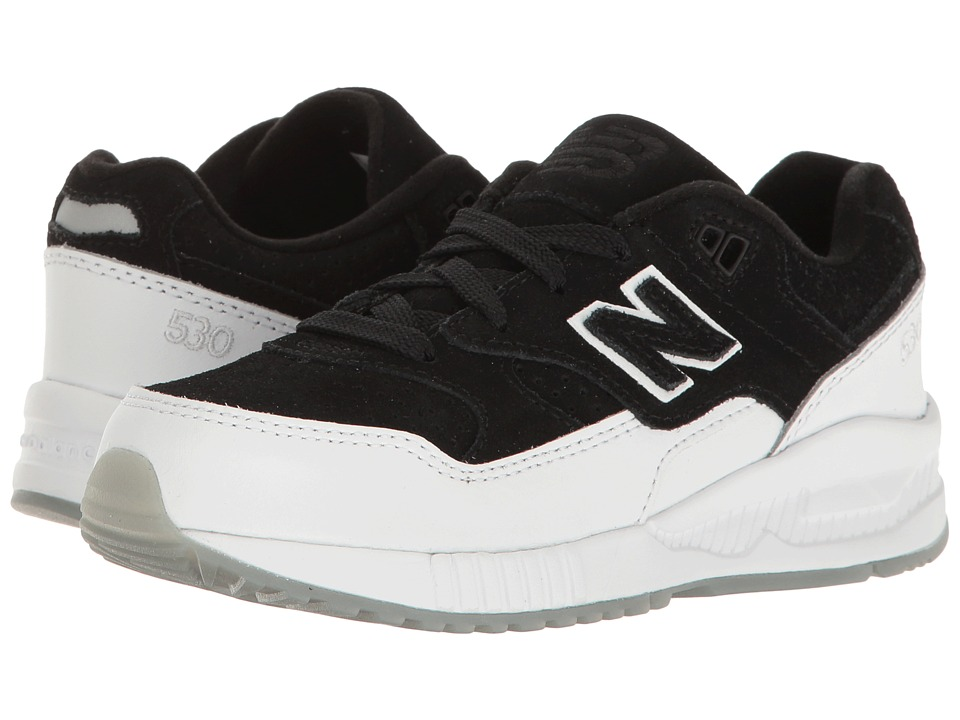 New Balance Kids KL530 (Little Kid) (Black/White) Boys Shoes