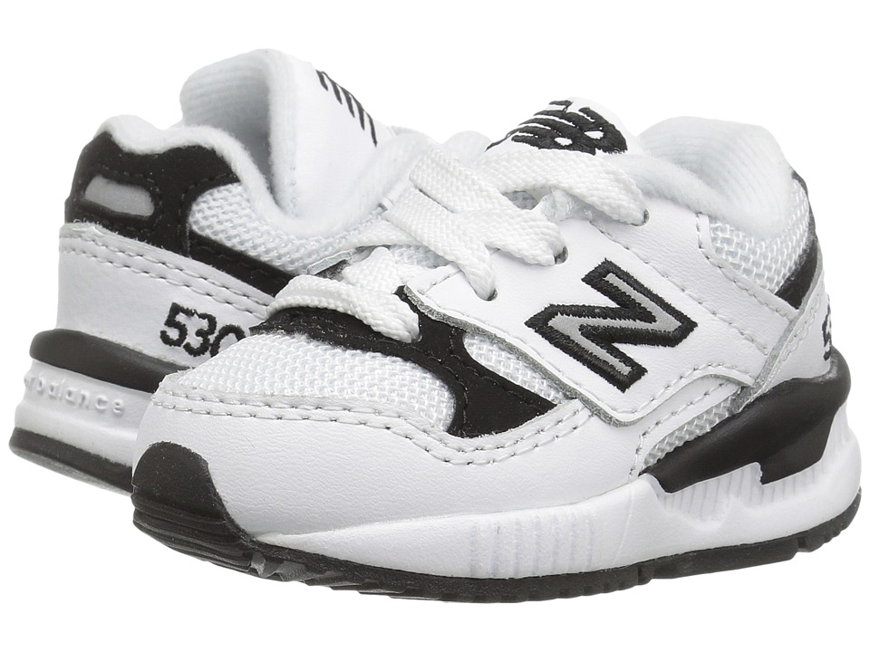 New Balance Kids - KL530 (Infant/Toddler) (White) Boys Shoes