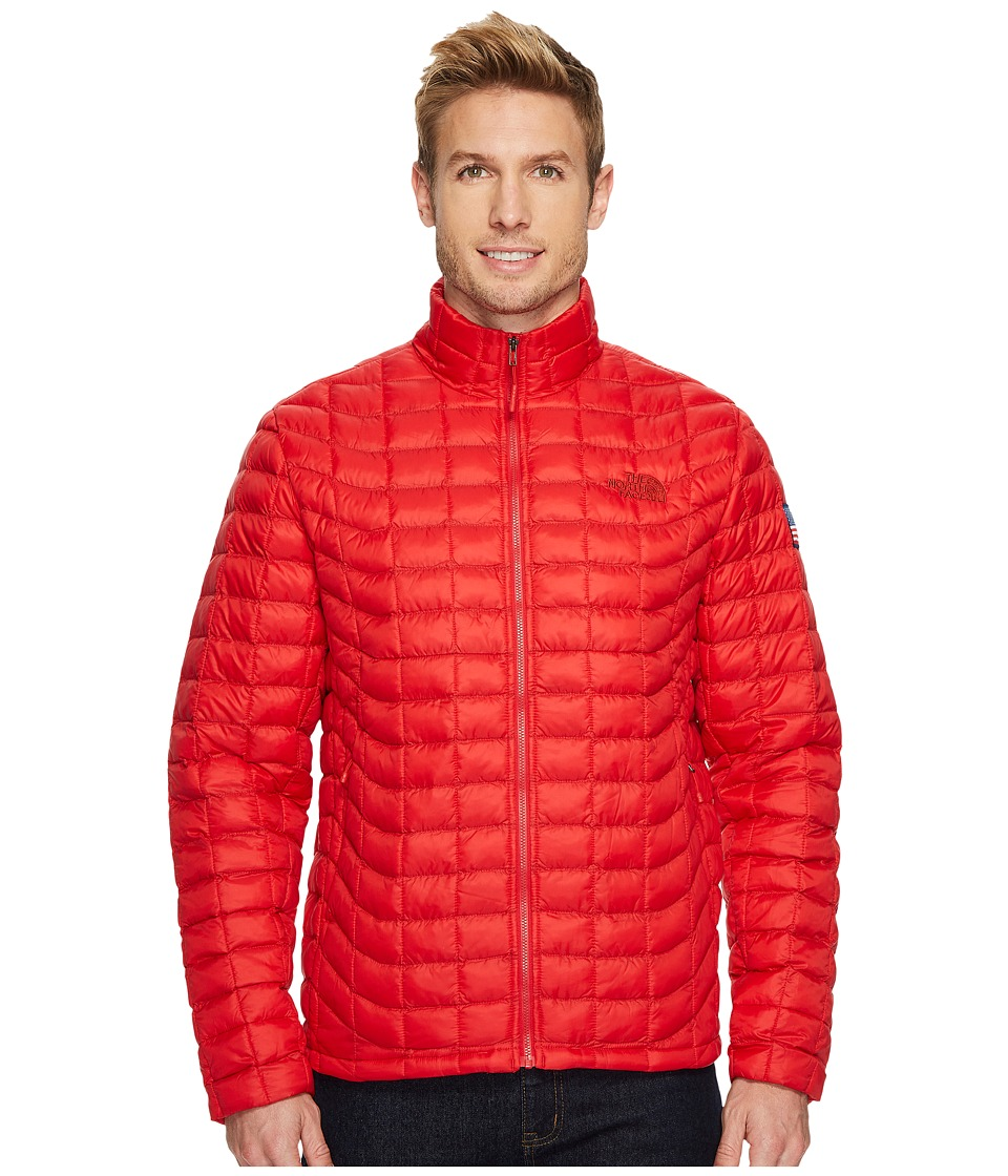 The North Face International Collection ThermoBall Full Zip (TNF Red) Men