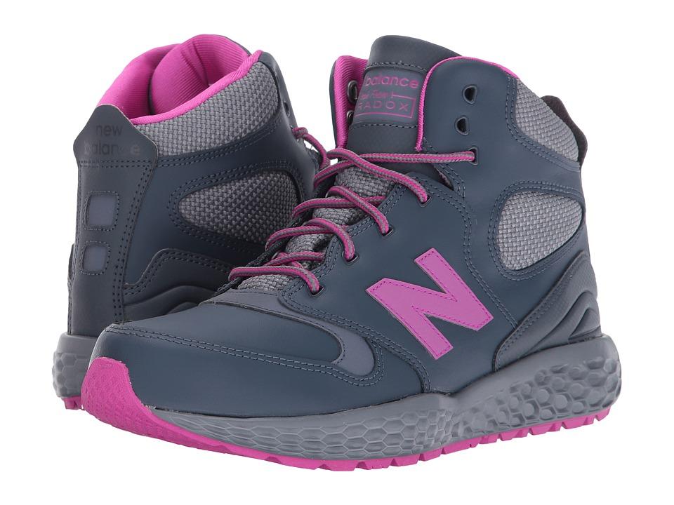 New Balance Kids - KLPXB (Big Kid) (Grey) Girls Shoes