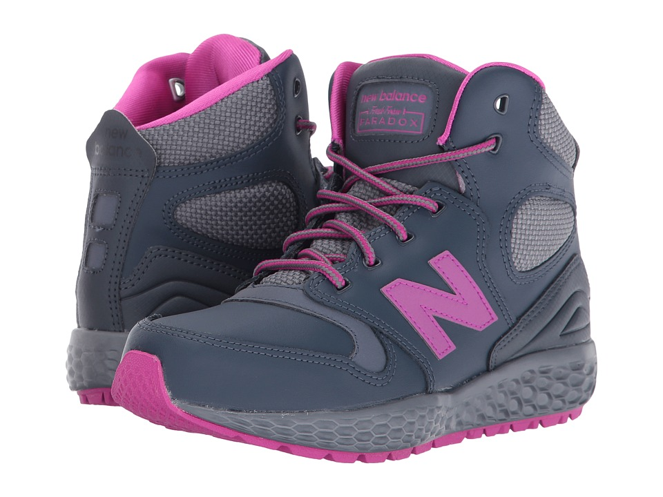 New Balance Kids - KLPXB (Little Kid) (Grey) Girls Shoes