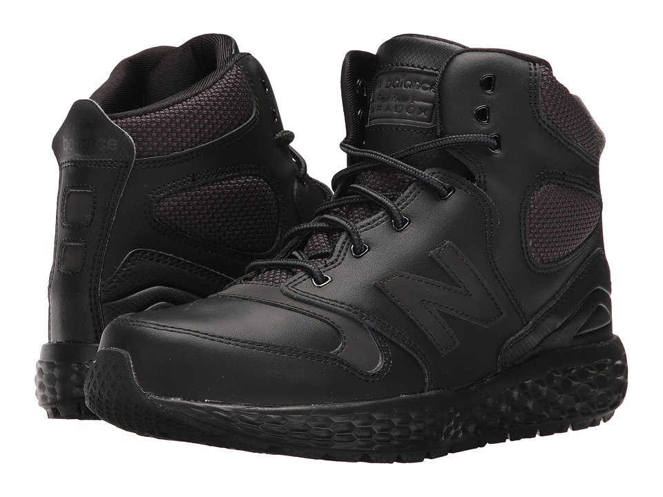 New Balance Kids KLPXB (Big Kid) (Black) Boys Shoes