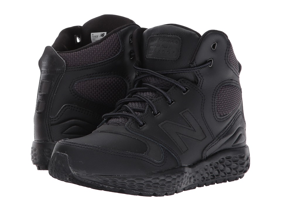 New Balance Kids KLPXB (Little Kid) (Black) Boys Shoes