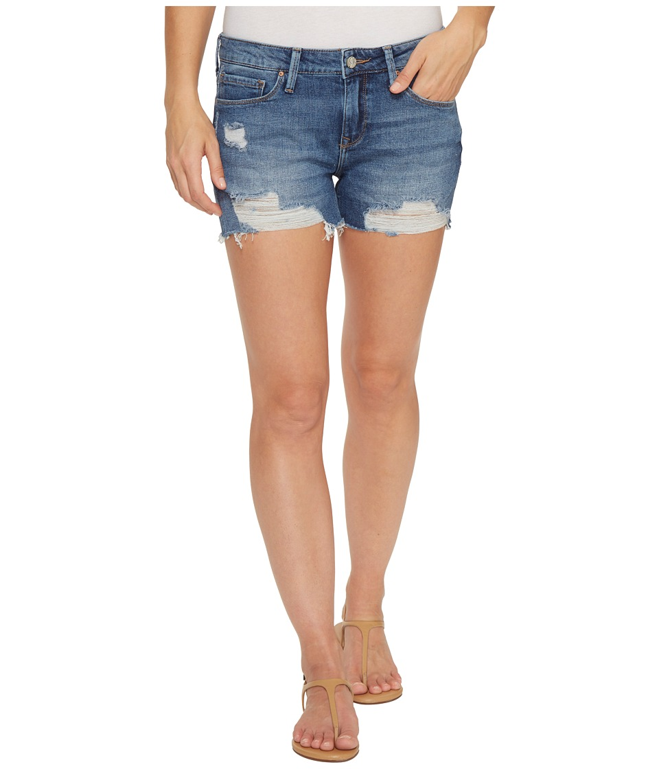 Mavi Jeans - Ripped Vintage Emily Shorts in Medium Blue (Medium Blue) Women's Shorts